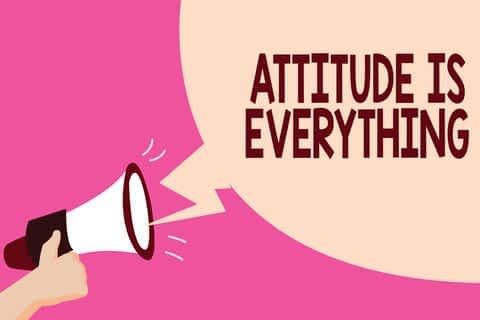 attitude is everything quote